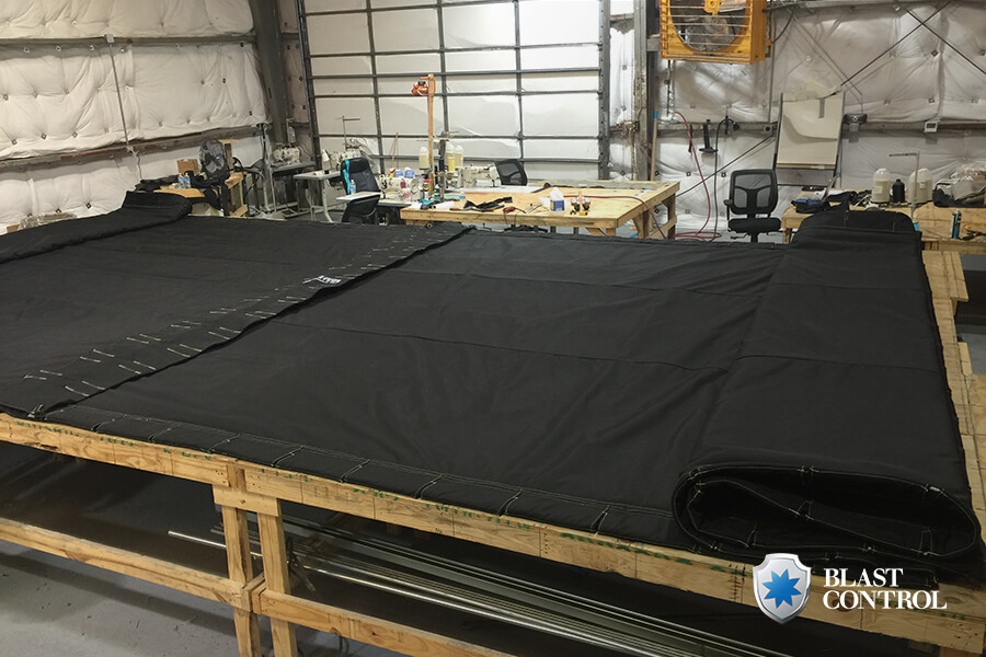 Blast Curtain Rolled Out