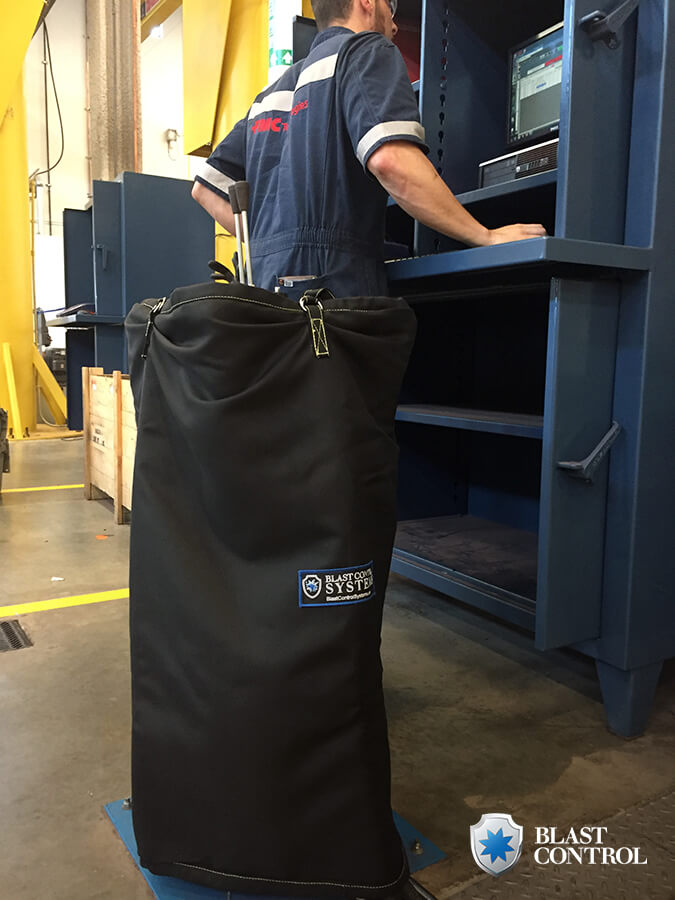 Blast Control pressure testing sleeve
