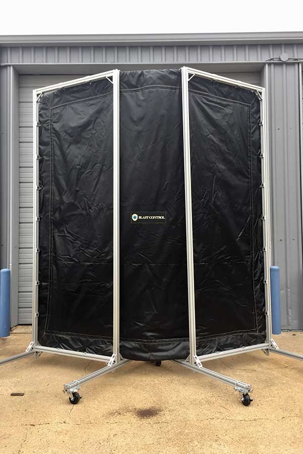 Outside of Pressure Test Mobile Barrier System
