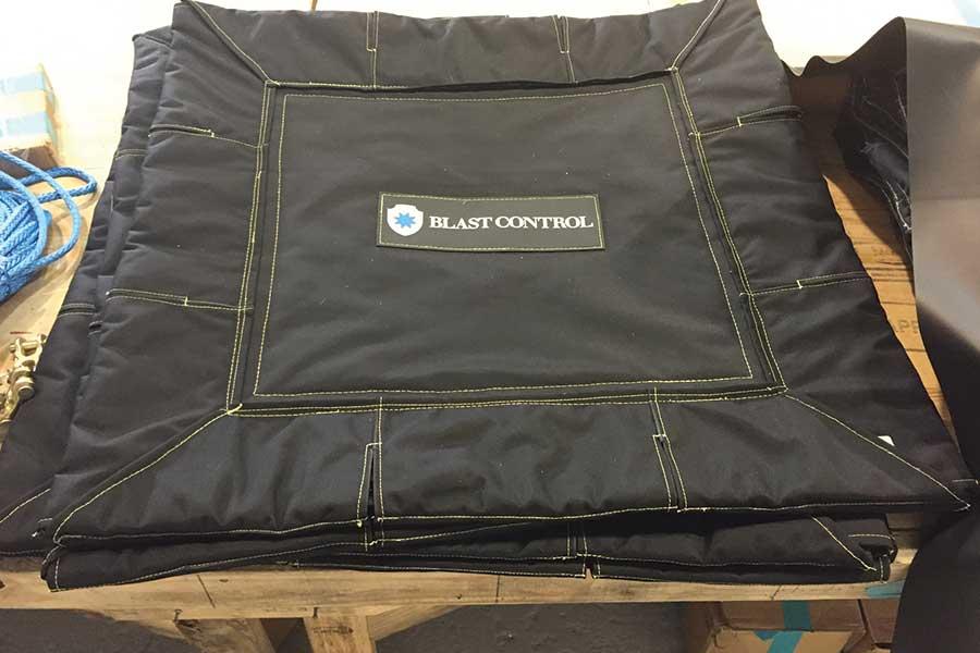 Blast Control Fabric Barrier
